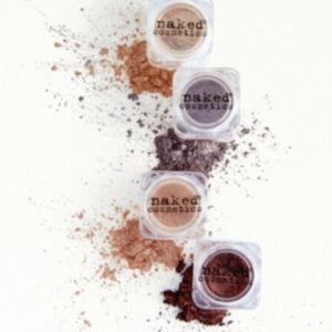 NAKED COSMETICS 4-Piece Loose Pigment Eyeshadow